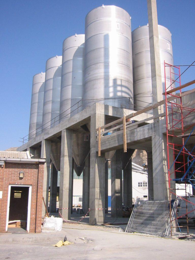silo acero inoxidable