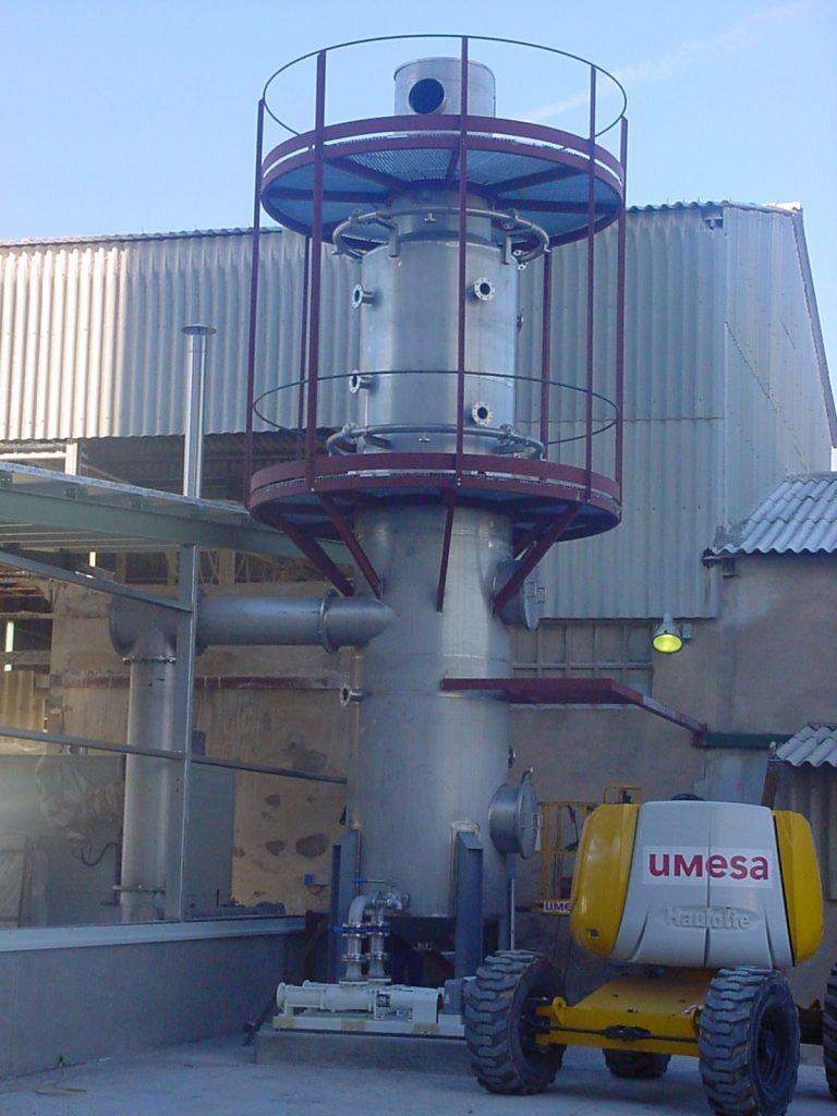 Lavadero de gases Scrubber