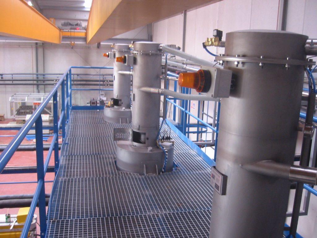 Instalación para la fabricación de tubos de plástico2