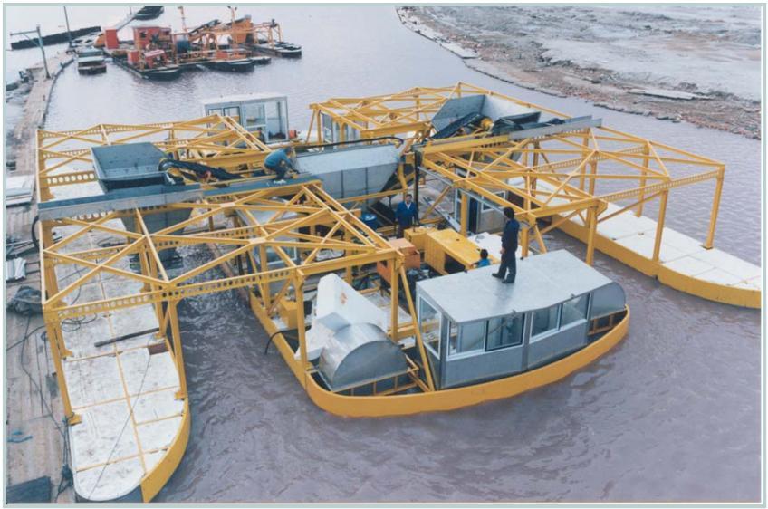 Máquina extractora de sal