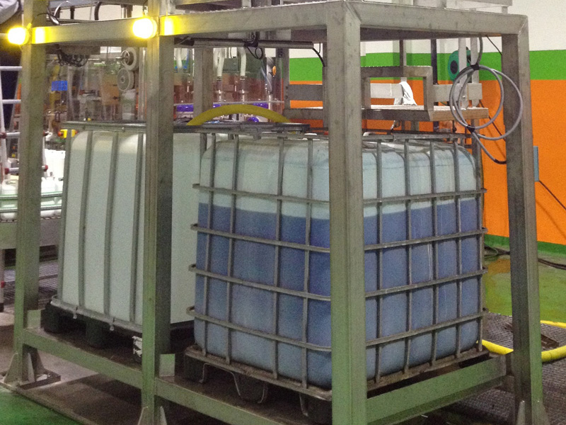 Rack contenedores