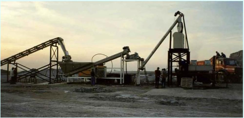 planta piloto de sal yodada Tianjin